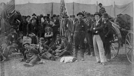 Photo from Ohio History Central - Coxey's Army